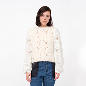 ELLIE COMBO SWEATER