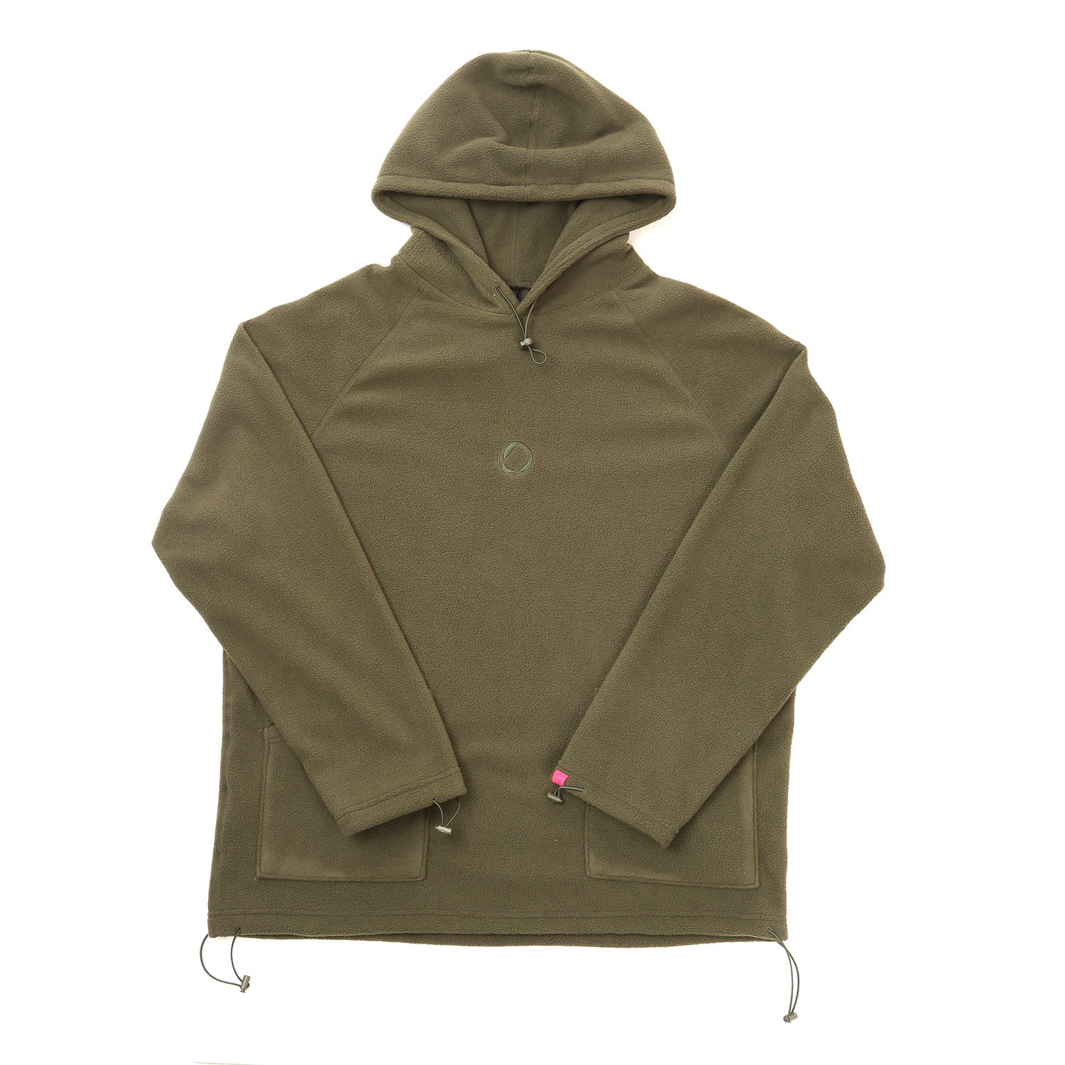 FLEECE HOODY OLIVE