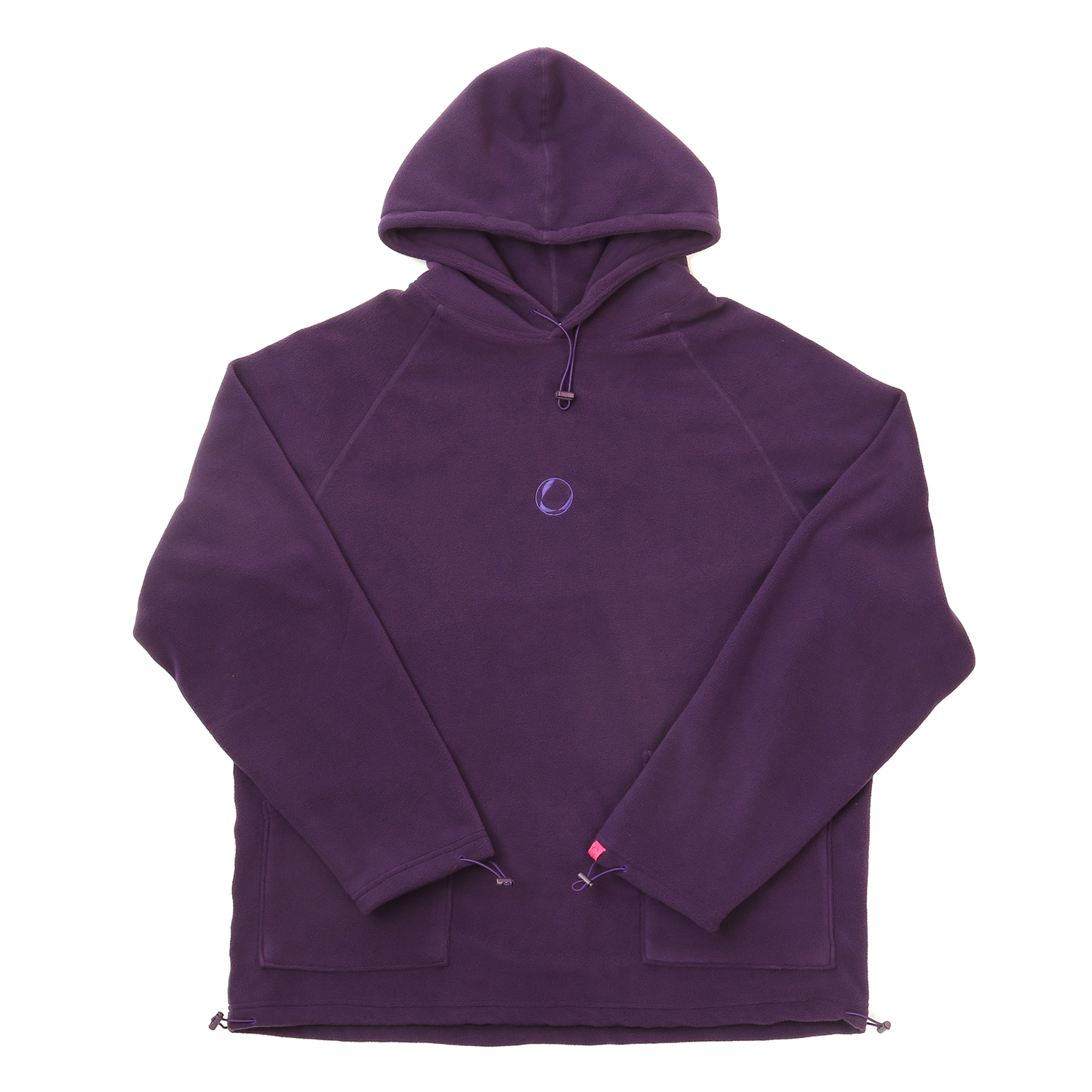 FLEECE HOODY PURPLE