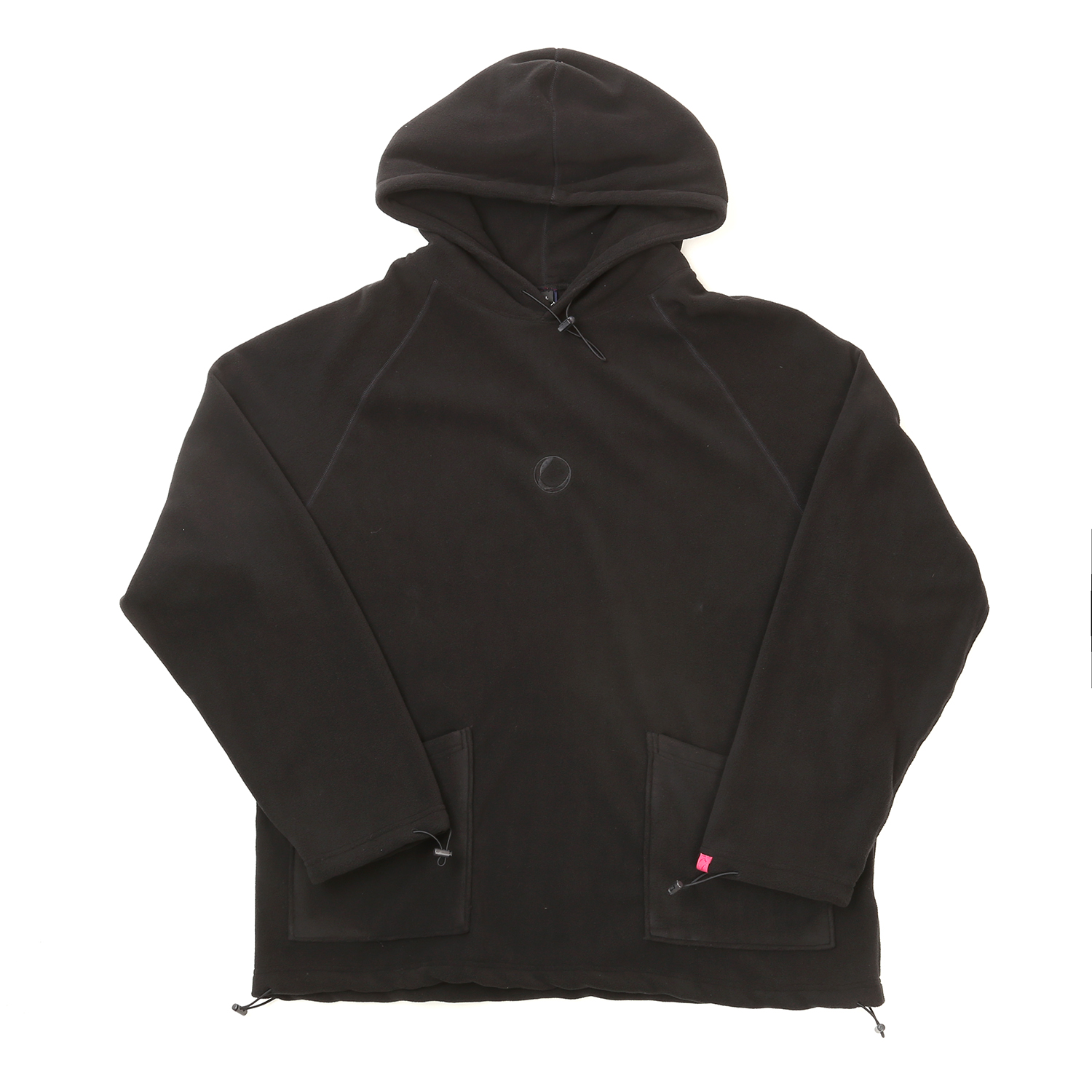 FLEECE HOODY BLACK