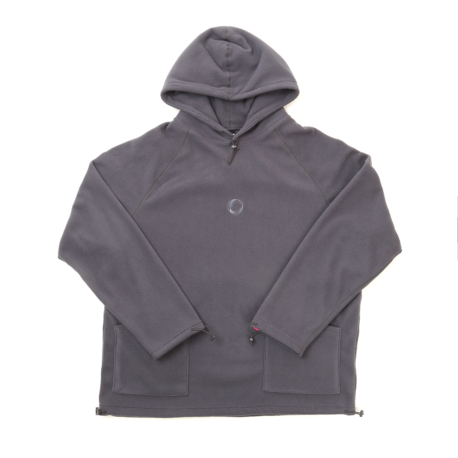 FLEECE HOODY GRAY