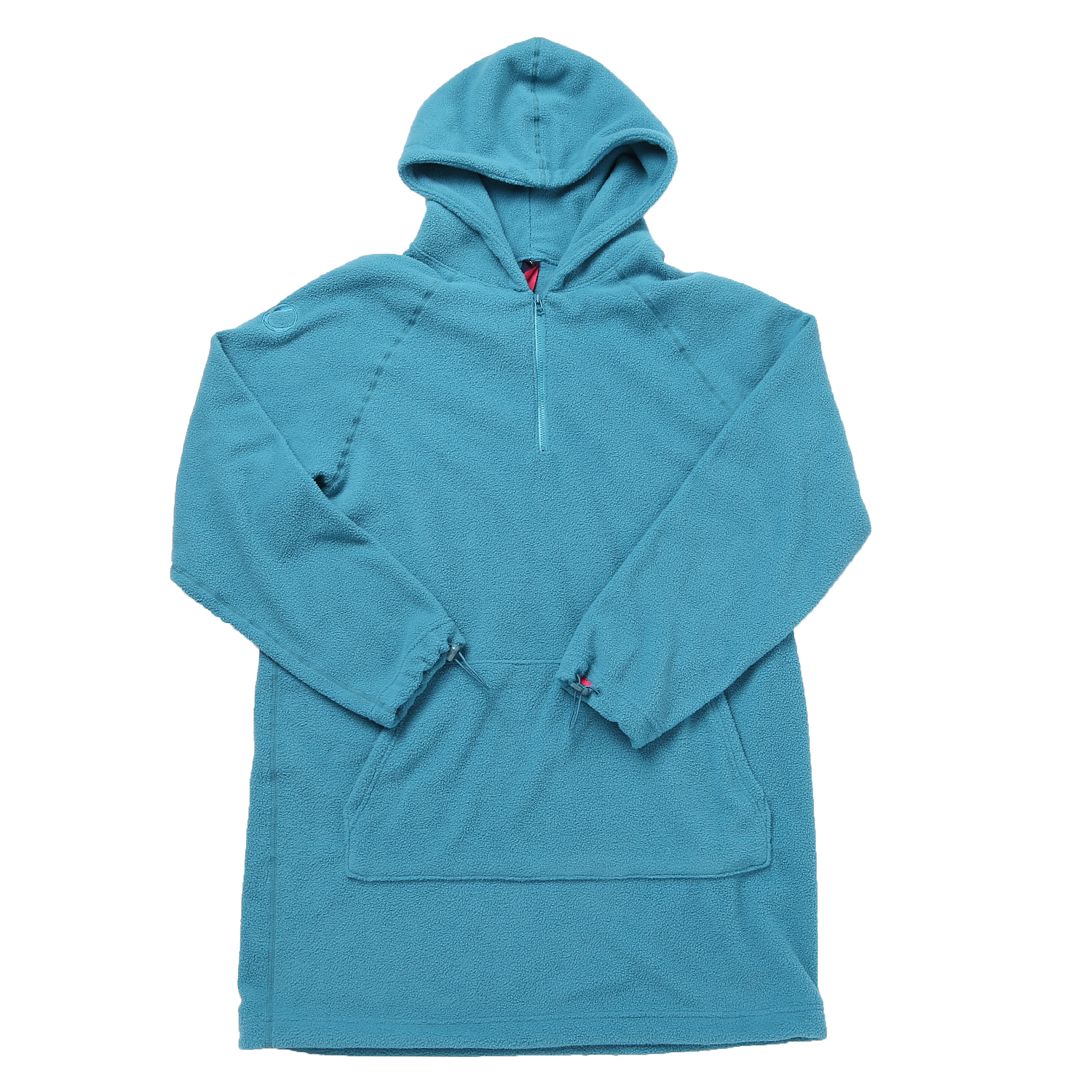 FLEECE LONG HOODY TIFFANY