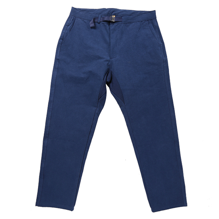 BANDED PANTS BLUE