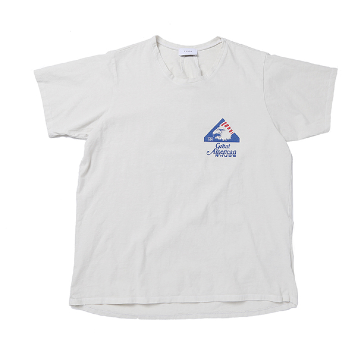 GREAT AMERICA REAL TEE WHITE