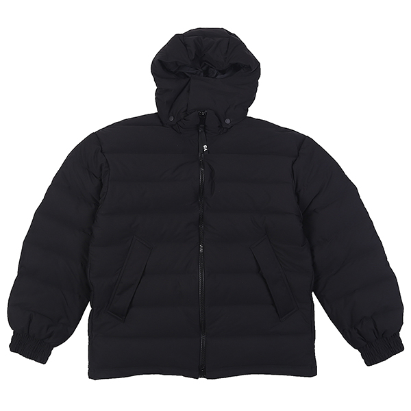 SEAMLESS DOWN HOODED JACKET BLACK U5Y3I6DW001-BK