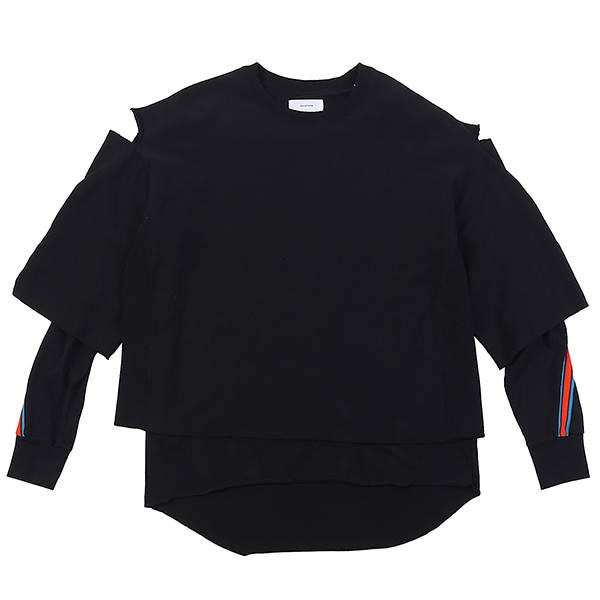 2 LAYER SWEAT BLACK U5FTI6SW001-BK