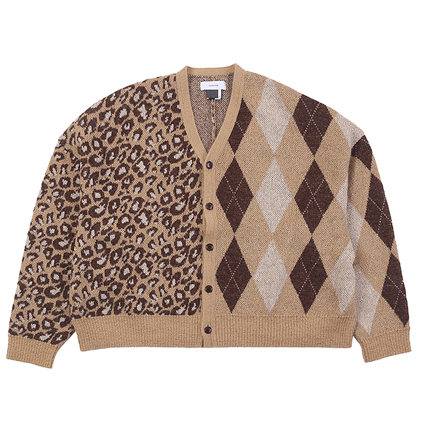 CRAZY CARDIGAN BEIGE U5FTI6CD001-BE