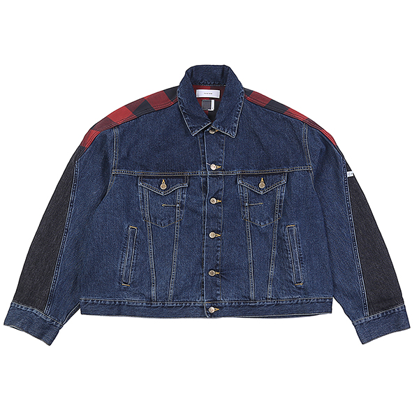 DENIM JKT DARK BLUE U5FTI6JK001-DBL