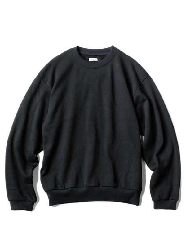 ECO FLEECY KNOT CREW SWEAT BLACK Z4KPI6SW001-BK