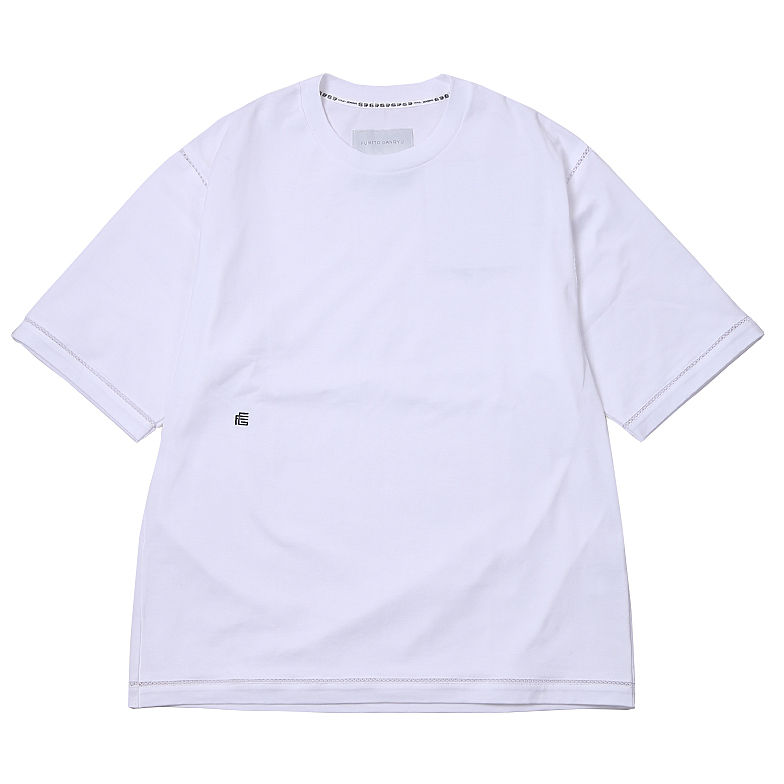 RELAXED FIT TEE WHITE U5FGJ5TS003-WH