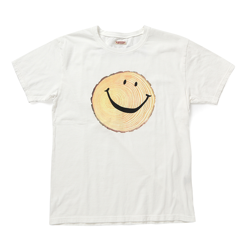 20/-JERSEY CREW T(SMILE TRUNK) Z4KPJ5TS008-WH