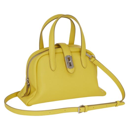 Toque tote S (토크 토트 스몰) Ginger yellow_VQB01TO1051