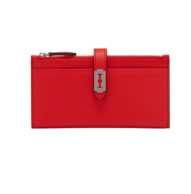 Magpie Long Wallet (맥파이 장지갑) Clear Red_VQB01WL1011