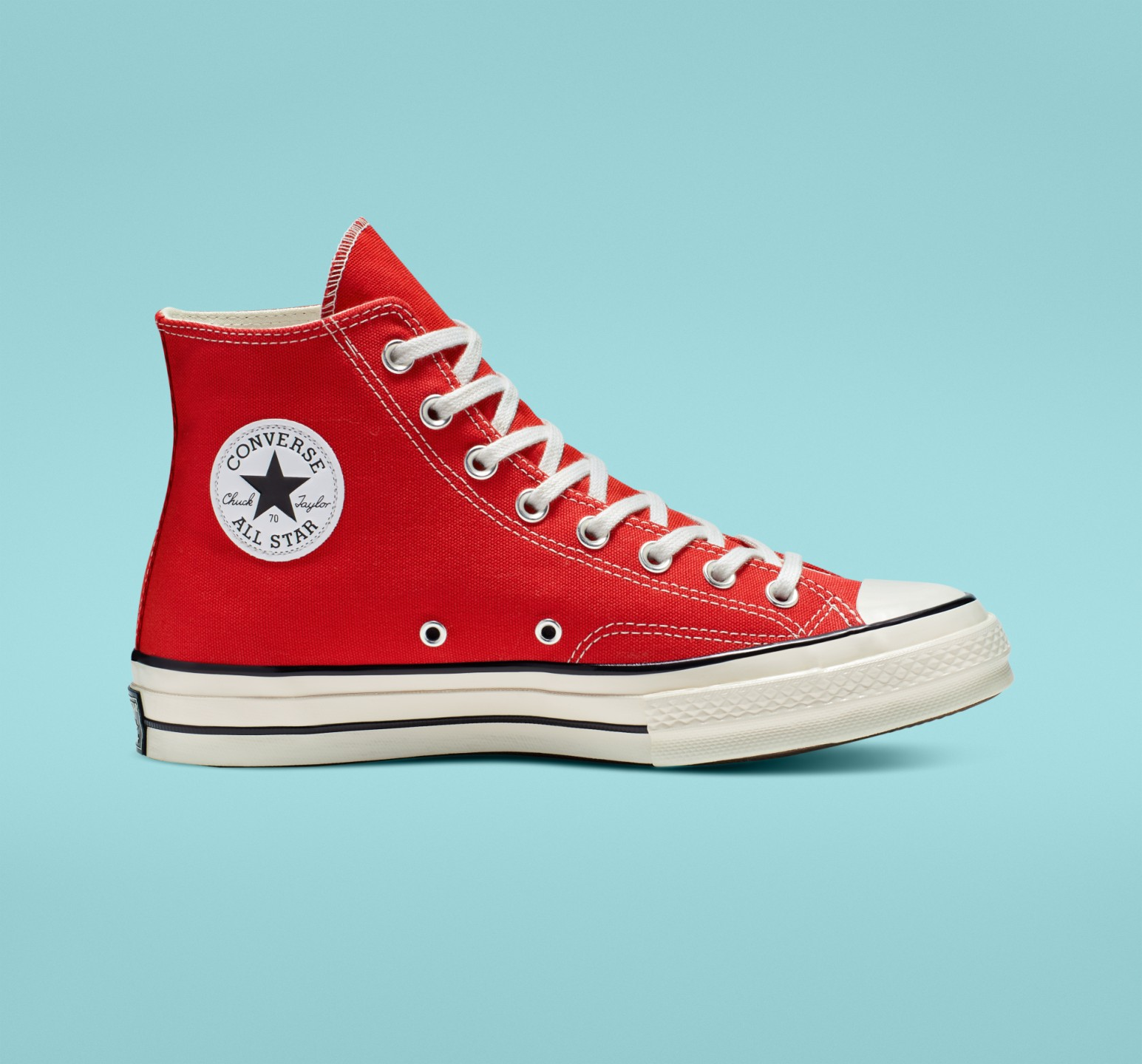 CHUCK TAYLOR HI 70S RED available size : 240~280 (half X)