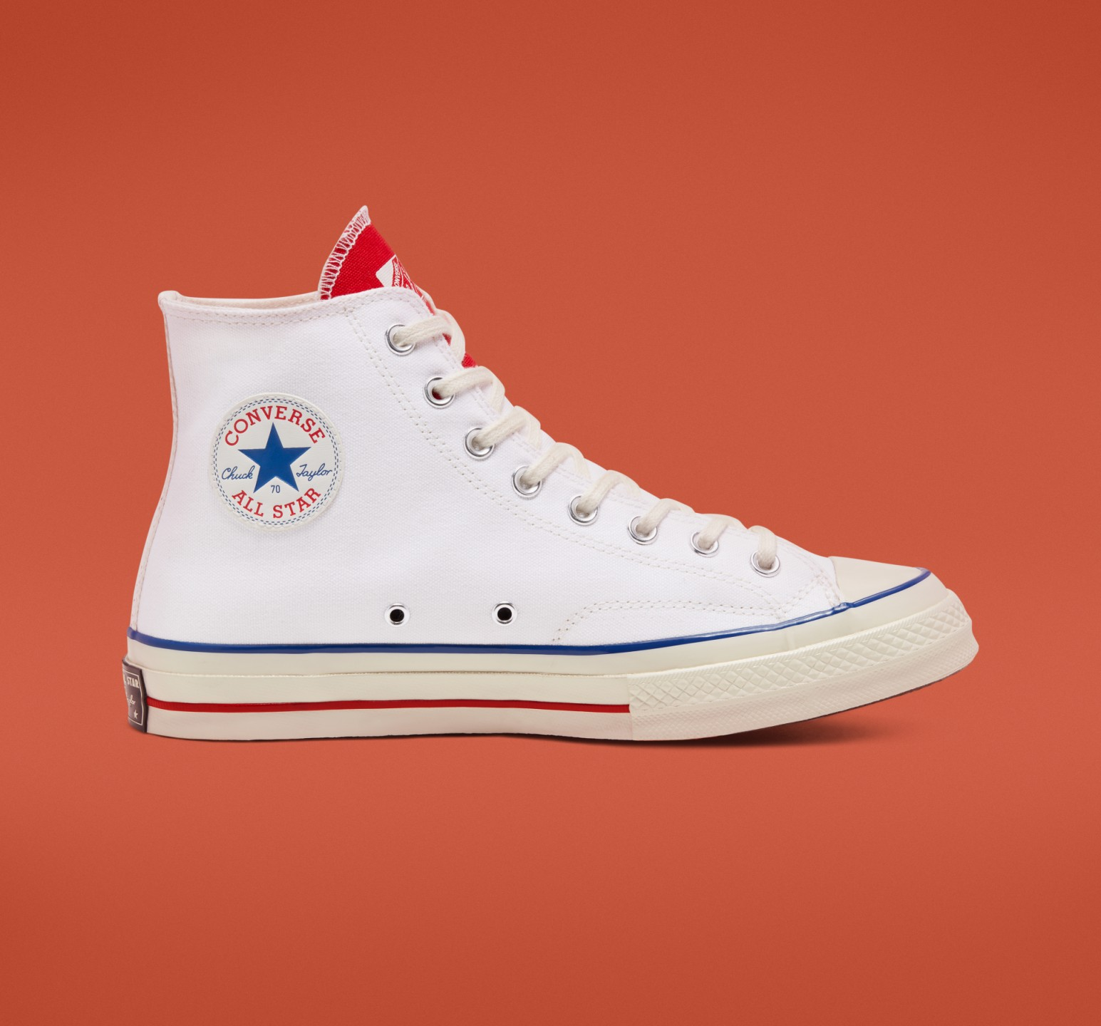 CHUCK TAYLOR HI 70S WHITE available size : 240~280 (half X)