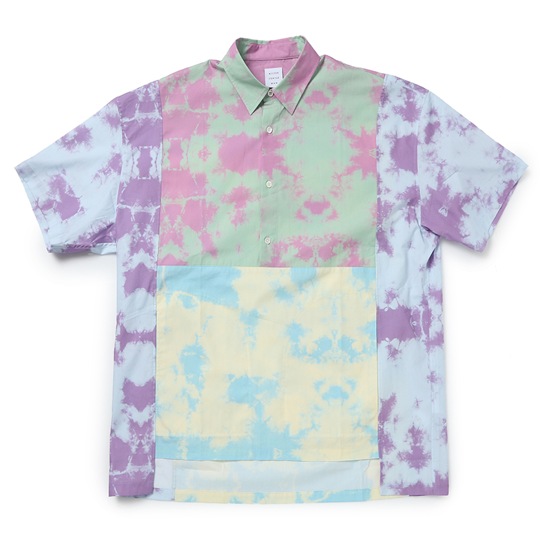 SWITCCHED PULLOVER SHIRT TIE DYE U5MGJ5TS003-ML