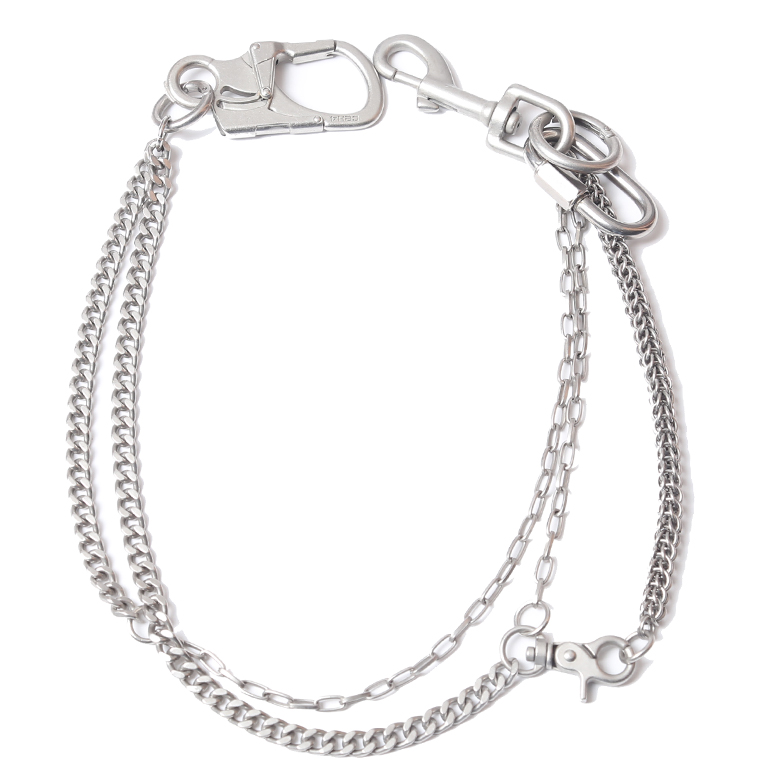 MULTI COMBINED PANTS CHAIN SILVER U5C2J6AC001-SI