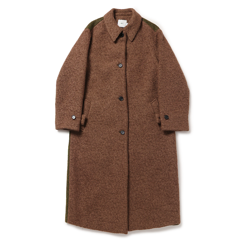 WOOL MAC COAT (BEIGE)