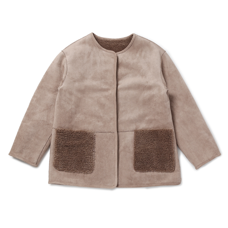 REVERSIBLE MUSTANG (BROWN)