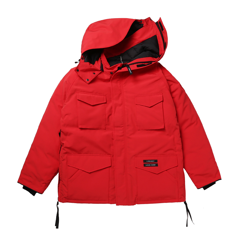 x CANADA GOOSE CONSTABLE PARKA RED U5YPJ6DW001-RD
