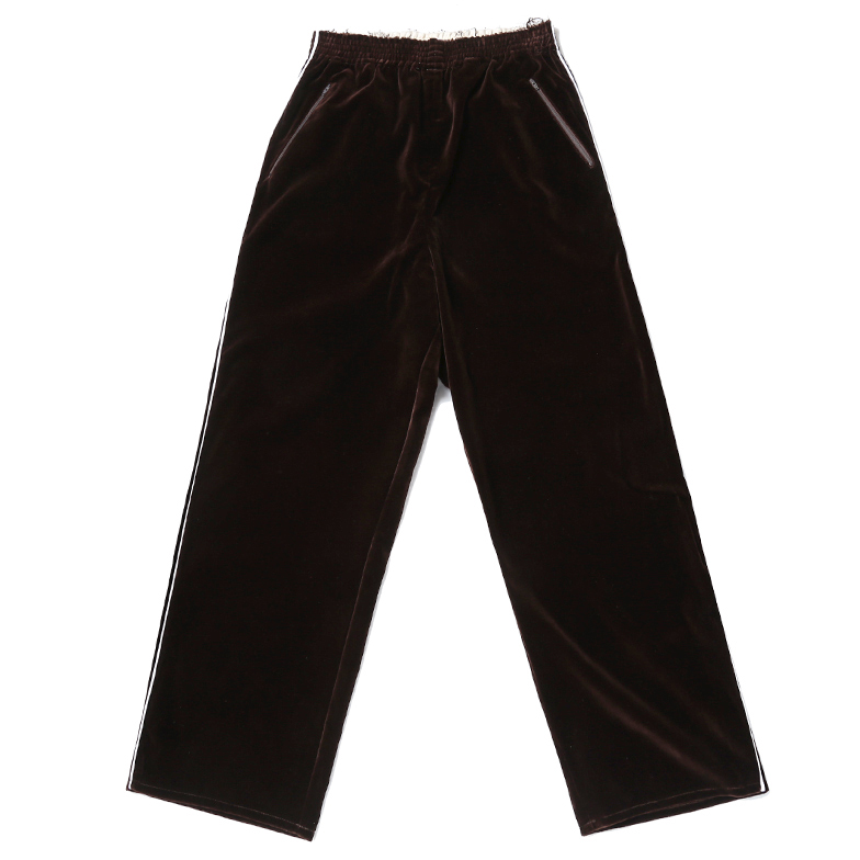 SPORT PANTS WITH PIPING U5CFJ6PT003-BR